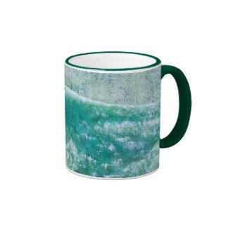 Surfing Dolphins Ringer Mug
