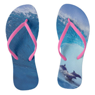 Surfing Dolphins Thongs