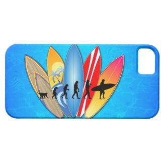 Surfing Evolution iPhone 5 Cases