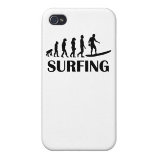 Surfing Evolution iPhone 4 Cases