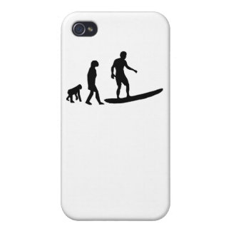 Surfing Evolution iPhone 4/4S Cover