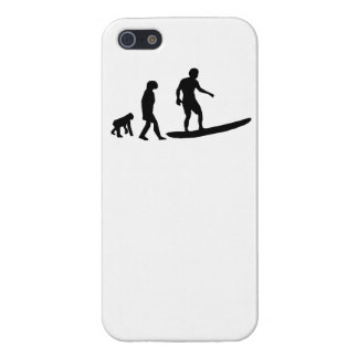 Surfing Evolution iPhone 5 Cover