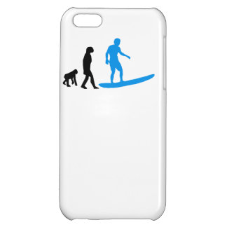 Surfing Evolution iPhone 5C Covers