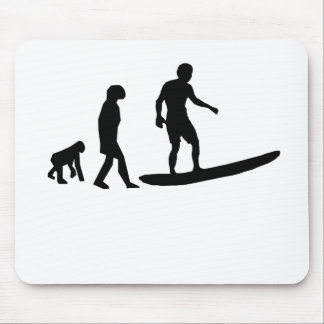 Surfing Evolution Mouse Pads