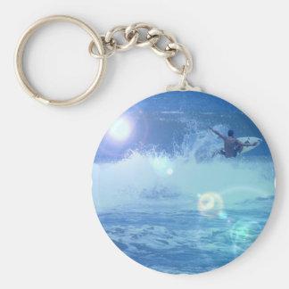 Surfing Extreme Keychain
