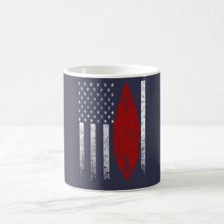 Surfing Flag Coffee Mug