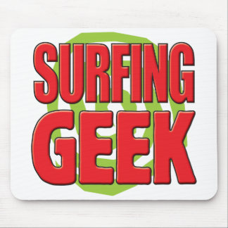 Surfing Geek Mouse Pads