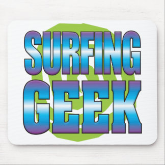 Surfing Geek v3 Mouse Pad
