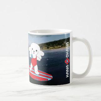 Surfing Hana Basic White Mug
