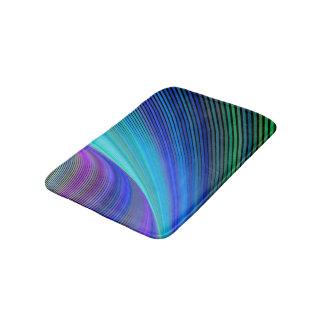 Surfing in a magic wave bath mat