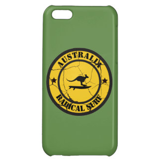 Surfing in Australia Cover For iPhone 5C