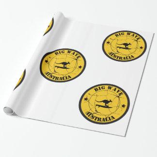 SurfinginAustralia Wrapping Paper