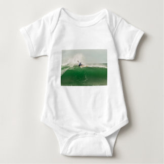 Surfing in Biarritz Baby Bodysuit