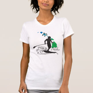 Surfing in  the Hawaii Islands 410 T-Shirt