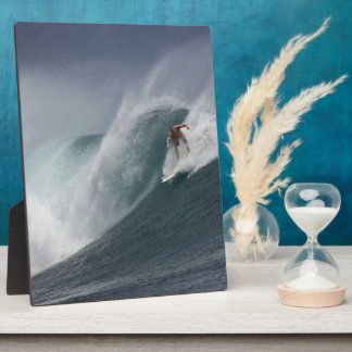 Surfing indonesia java island plaque