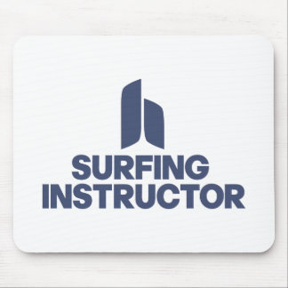 Surfing Instructor Mousepad