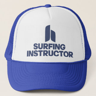 Surfing Instructor Trucker Hat