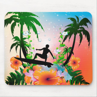 Surfing Mouse Pads
