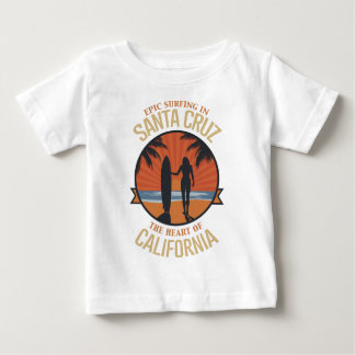 Surfing Santa Cruz Baby T-Shirt