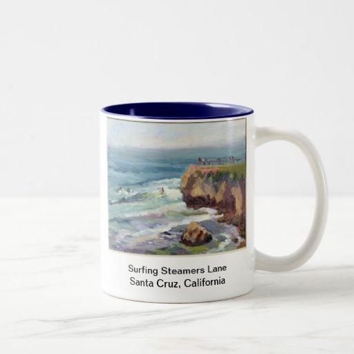 Surfing Santa Cruz Mug