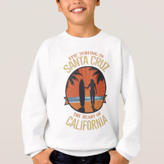 Surfing Santa Cruz Sweatshirt