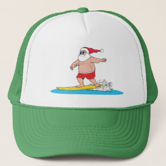 Surfing Santa Hat