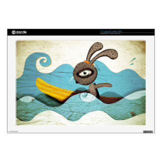 "Surfing Sea Swirls Skins For 17"" Laptops"