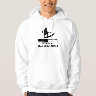 Surfing Skills Loading Hoodie