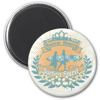 Surfing Spirit Tshirts and Gifts Magnet