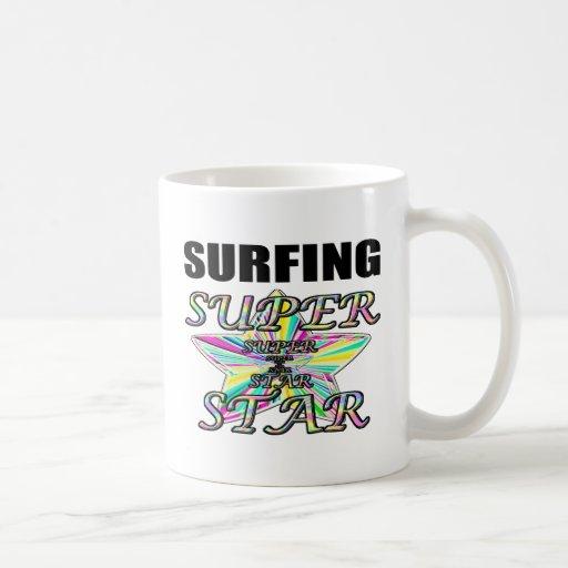 Surfing Superstar Coffee Mug