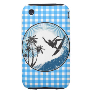 Surfing Surfer Tough iPhone 3 Covers