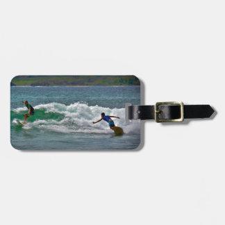 Surfing Tamarindo Luggage Tag
