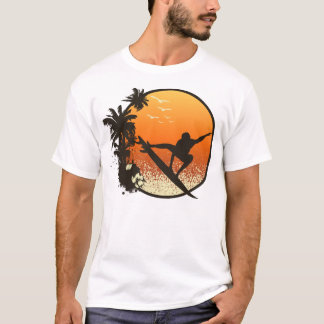 Surfing The Amber Sun T-Shirt