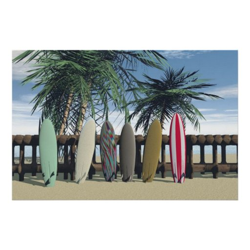 surfing the day away posters