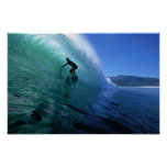 Surfing the Green Tube Poster