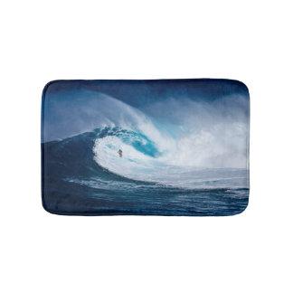 Surfing the Huge Wave Bath Mat