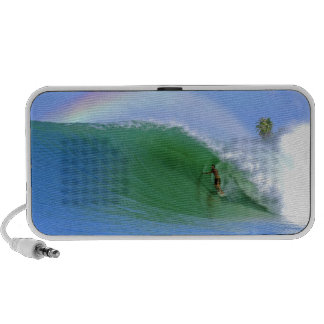 Surfing The Perfect Wave Doodle Speakers