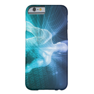 Surfing the Web or Internet as a Digital Concept Barely There iPhone 6 Case