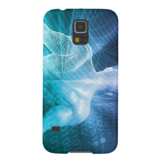 Surfing the Web or Internet as a Digital Concept Galaxy S5 Case