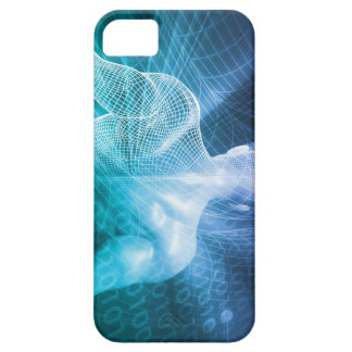 Surfing the Web or Internet as a Digital Concept iPhone 5 Cover