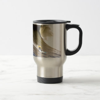 Surfing to goal and success coffee mug