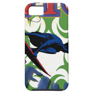 surfing tribal iPhone 5 cover