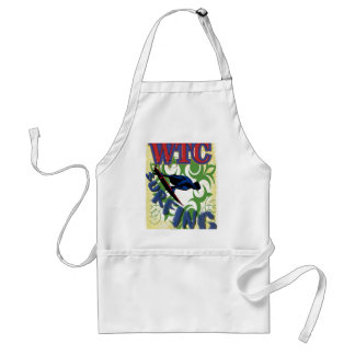 surfing tribal standard apron