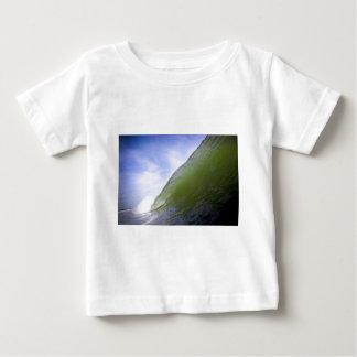 Surfing tube wave tropical beach Nicaragua Baby T-Shirt