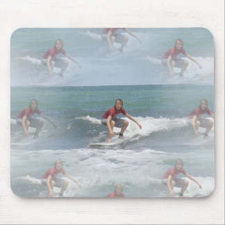 Surfing USA Mouse Pad
