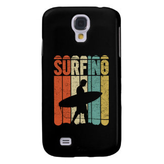 Surfing Vintage Galaxy S4 Cover