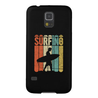 Surfing Vintage Galaxy S5 Cover