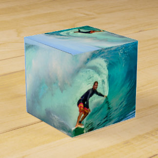 Surfing Wave Rider Party Favor Boxes