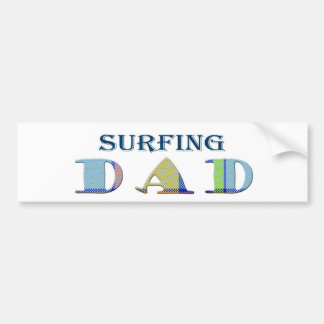 SurfingDad Bumper Sticker