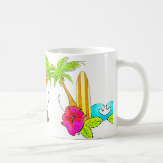Surfs Up Classic Coffee Mug Tropical Vibes